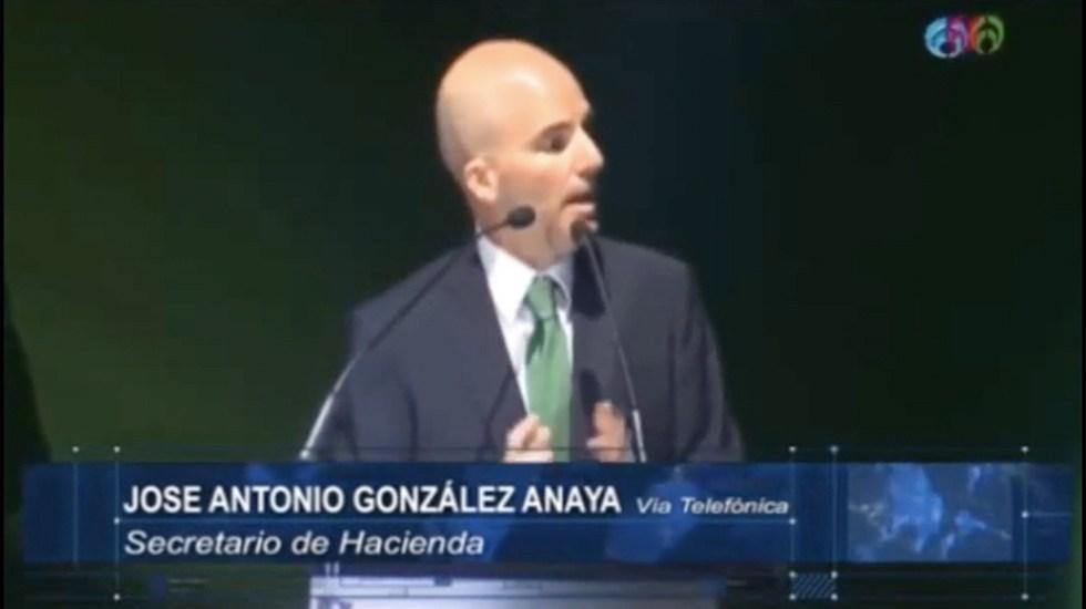 Aranceles no impactarán las finanzas públicas: González Anaya