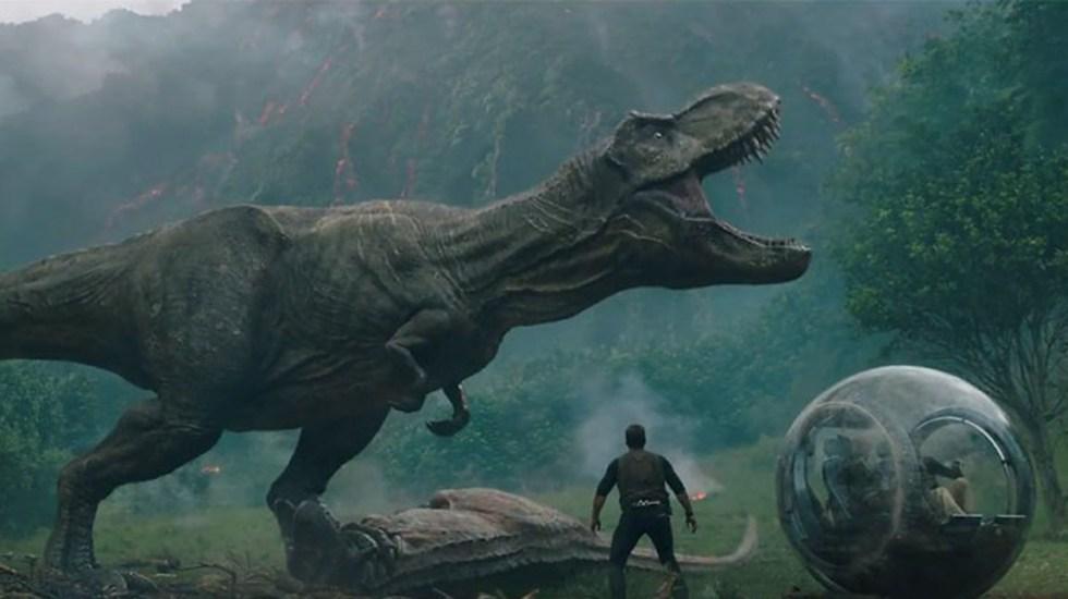 Jurassic World 2 se mantiene al frente en la taquilla del fin de semana