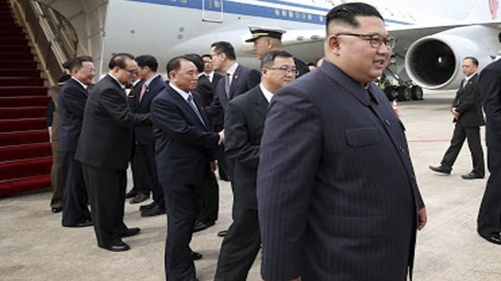 #Video Kim Jong-un está en Singapur para reunión con Trump - Foto de AP