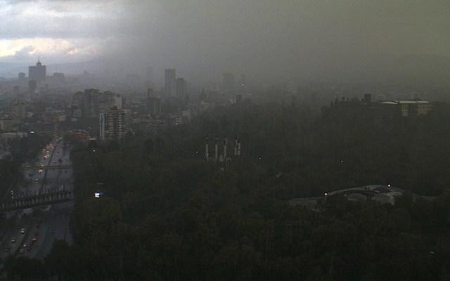 Alerta Roja en dos delegaciones por lluvia en la Ciudad de México - Foto de @webcamsdemexico