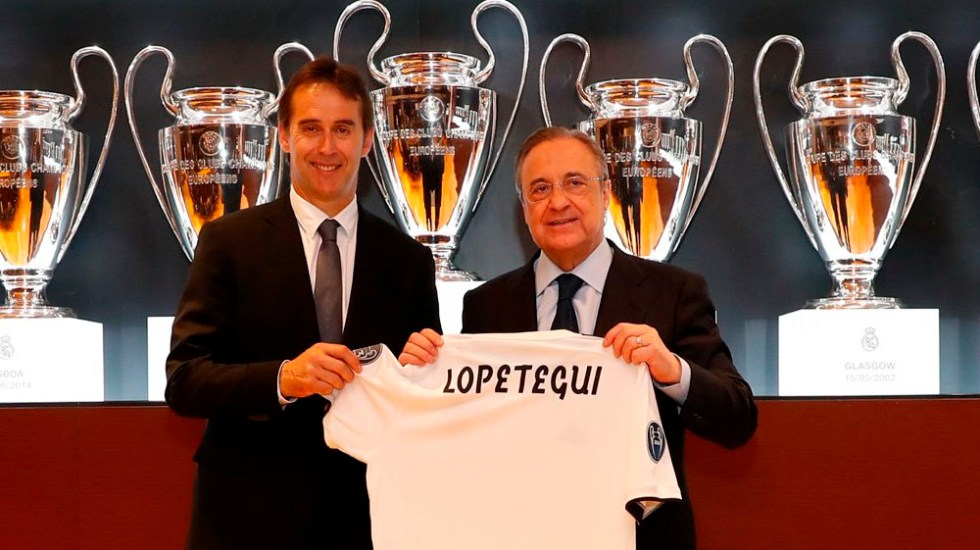 Presentan a Lopetegui como nuevo técnico del Real Madrid - Foto de @realmadrid
