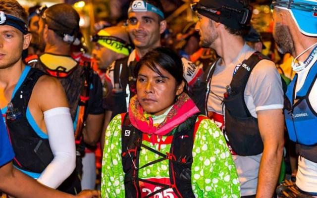 Corredora rarámuri obtiene tercer lugar en ultramaratón europeo - Foto de Tenerife Bluetrail