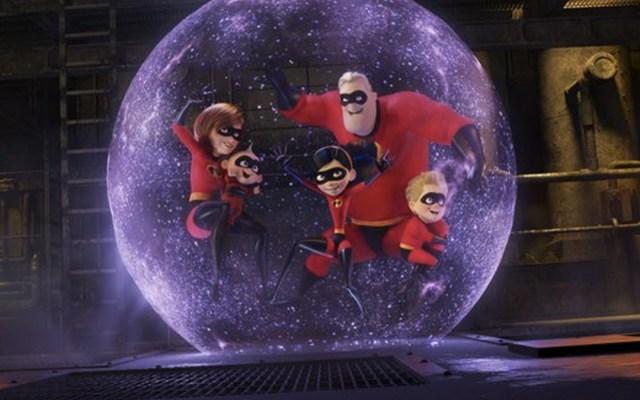 'Los Increíbles 2' supera los mil mdd en taquilla - Foto de Disney