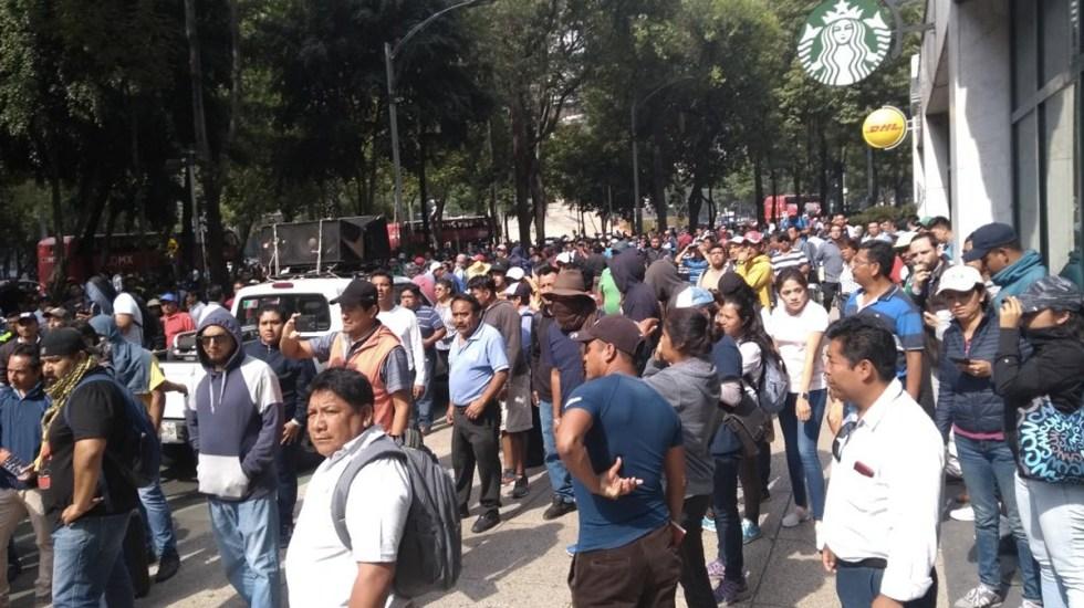 Las movilizaciones de este martes - Foto de Internet