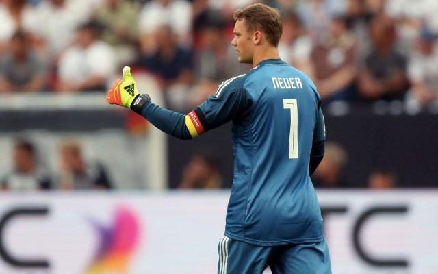 """""""El partido contra México nos ha abierto los ojos"""": Manuel Neuer - Foto de Mexsport"""