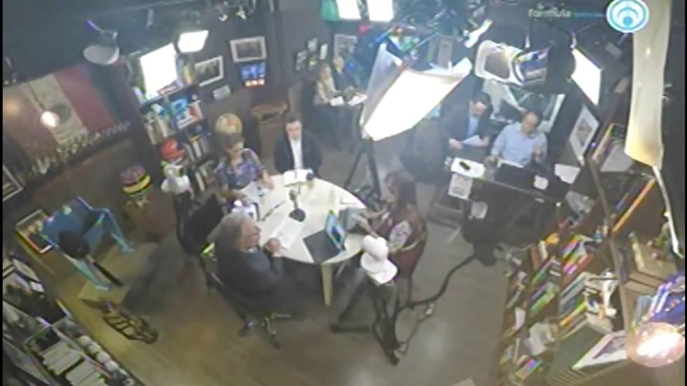 Mesa de análisis de los representantes de los partidos sobre la violencia - Captura de Pantalla