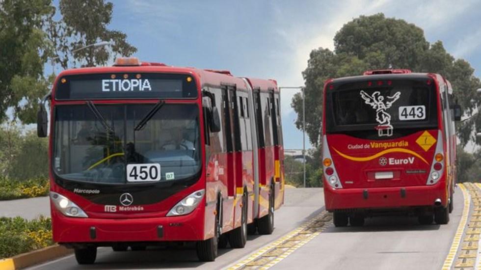 Tras 19-S, Metrobús reanuda servicio en terminal Etiopía - Foto de internet