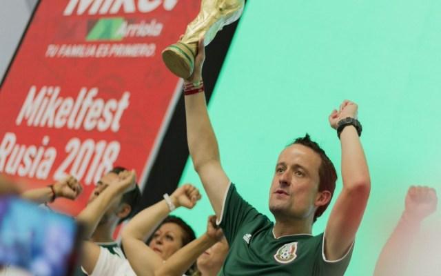 Mikel Arriola habló acerca del triunfo de México en el Mundial - Foto de Twitter Mikel Arriola