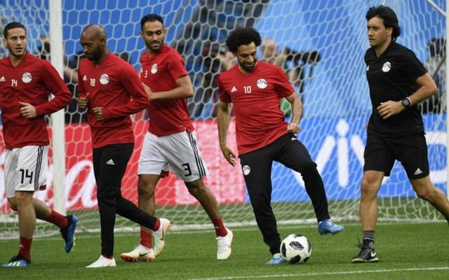 Salah está listo para jugar con Egipto - Foto de Asociación Egipcia de Futbol