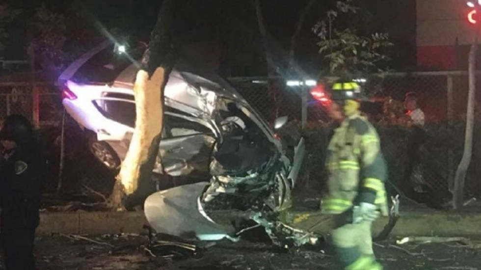 Automovilista muere tras chocar en Aquiles Serdán - Foto de Excélsior
