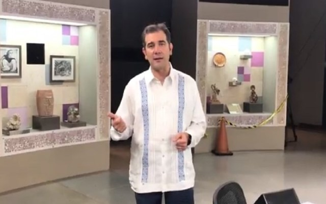 #Video Titular del INE presenta set del tercer debate presidencial - Foto de Lorenzo Córdova