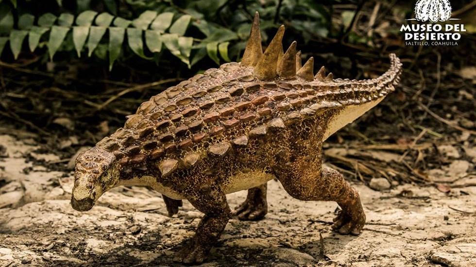 Descubren en Saltillo nueva especie de dinosaurio