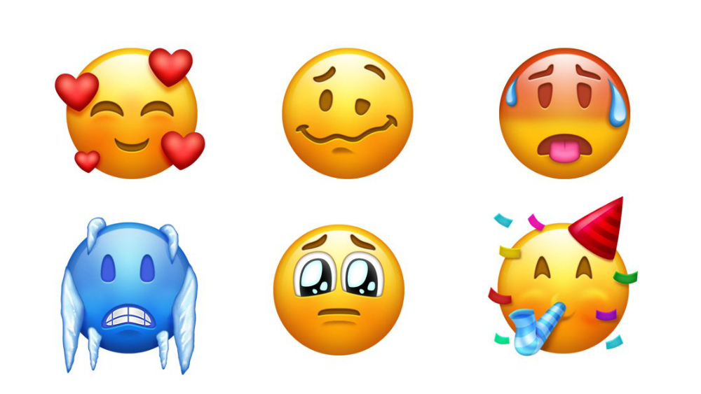 Así lucen los nuevos emojis que llegarán esta semana a dispositivos móviles