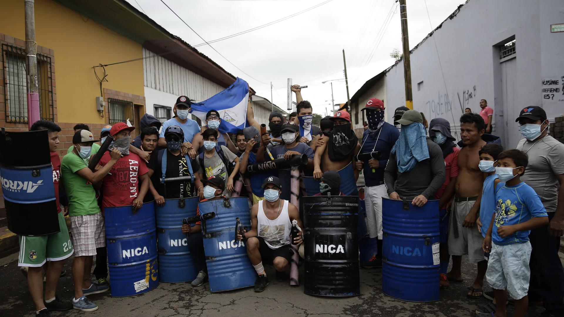 Protestas dejan 128 muertos en 49 días en Nicaragua