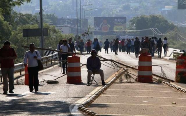 CNTE provoca pérdidas de 100 mdp en Oaxaca - Foto de @OaxacaPolitico