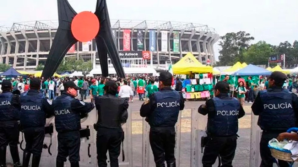 Desplegarán cuatro mil policías para el juego México vs. Escocia - Foto de internet