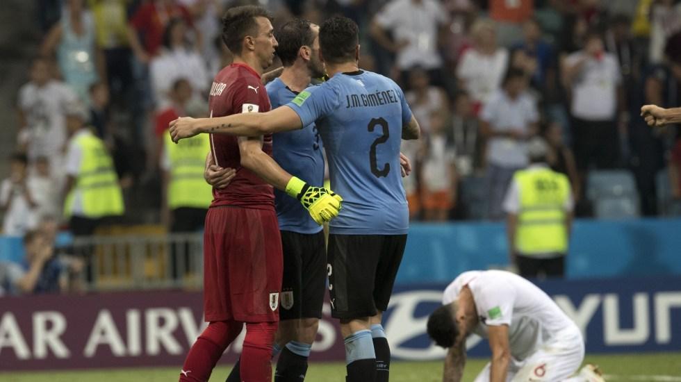 Uruguay elimina a Portugal con doblete de Cavani - Foto de Mexsport