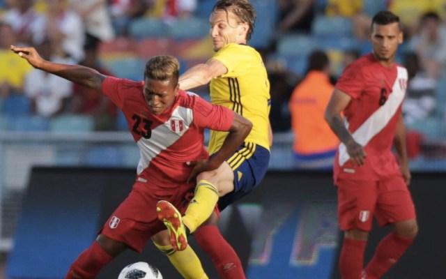 Suecia empata sin goles contra Perú - Foto de @SeleccionPeru