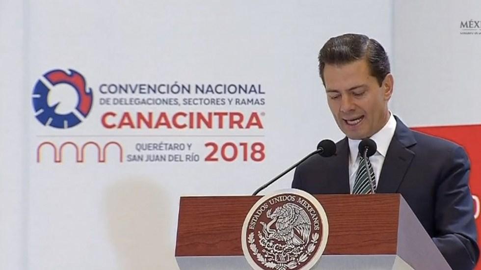 Elecciones demostrarán madurez de la democracia mexicana: Peña Nieto - Foto de Presidencia de la República