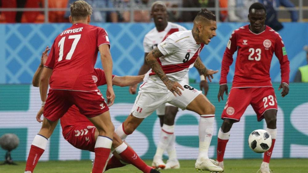 Perú pierde 1-0 ante Dinamarca en debut mundialista - Foto de @SeleccionPeru