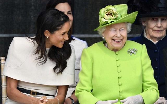 #Video La primera salida de Meghan Markle y la reina Isabel juntas - Foto de Daily Mail