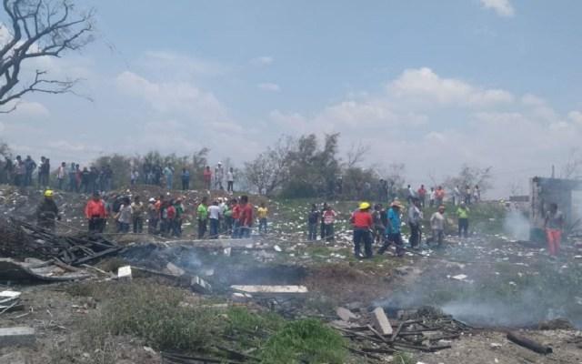 Heridos por explosión en Tultepec se encuentran delicados de salud - Foto de Twitter