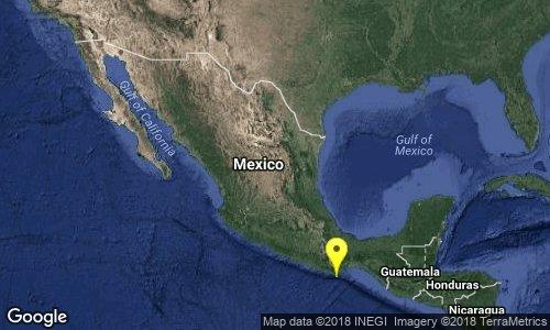 Sismo 4.2 en Huatulco, Oaxaca