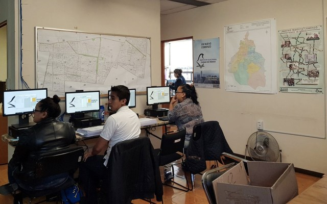 Realizan simulacro de conteo rápido en la Ciudad de México - Foto de Twitter IECM