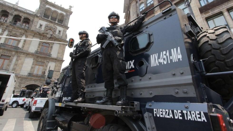 Reforzarán seguridad con Operativo Blindaje en la Ciudad de México - Foto de SSP CDMX