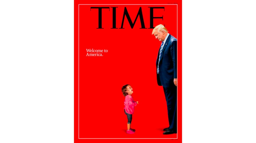 Time dedica su portada a Trump tras polémica por menores migrantes
