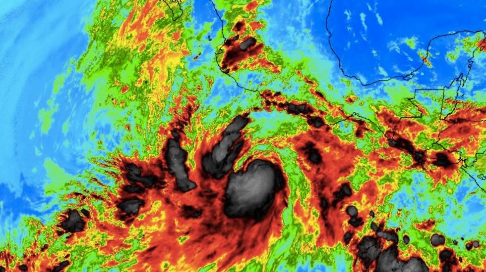 Se forma la tormenta tropical Bud frente a costas de Guerrero - Foto de Internet