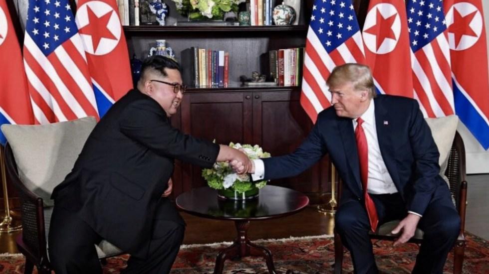 Reunión con Kim Jong-un, mejor de lo que nadie podría haber esperado: Trump - Foto de @Scavino45