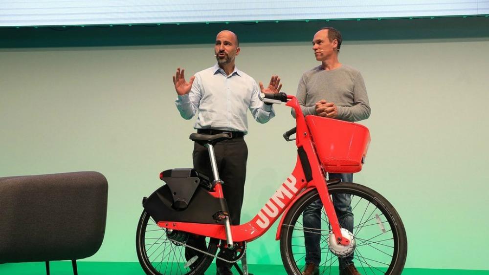 Uber implementa el servicio de bicicletas compartidas en tierras galas