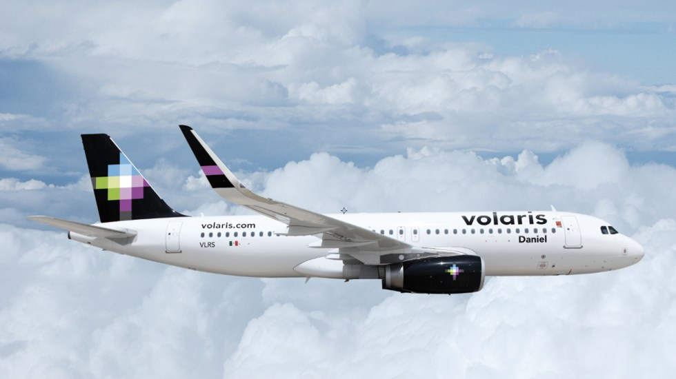 Regresa vuelo de Volaris al AICM tras falsa amenaza de bomba - el vuelo 794 de Volaris regresó al Aeropuerto Internacional de la Ciudad de México (AICM) para una revisión de seguridad tras una falsa amenaza de bomba
