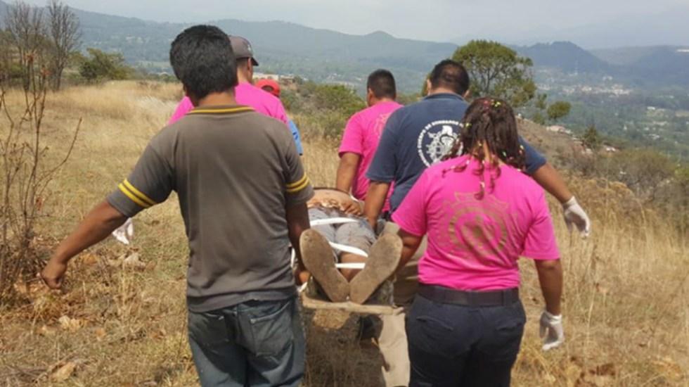 Sujeto intenta suicidio colectivo con su familia en Michoacán - Foto de Cubo Noticias