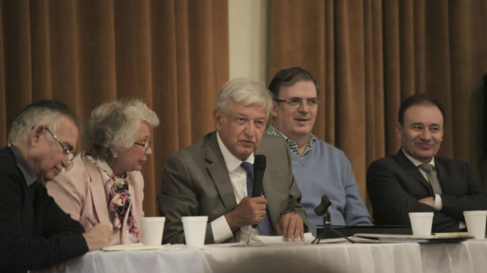 AMLO y su gabinete de seguridad convocan a foros para crear ley de amnistía - Foto de LopezObrador.org