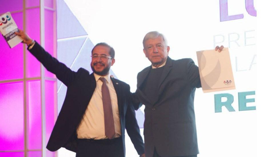 AMLO se reúne con presidente del PES