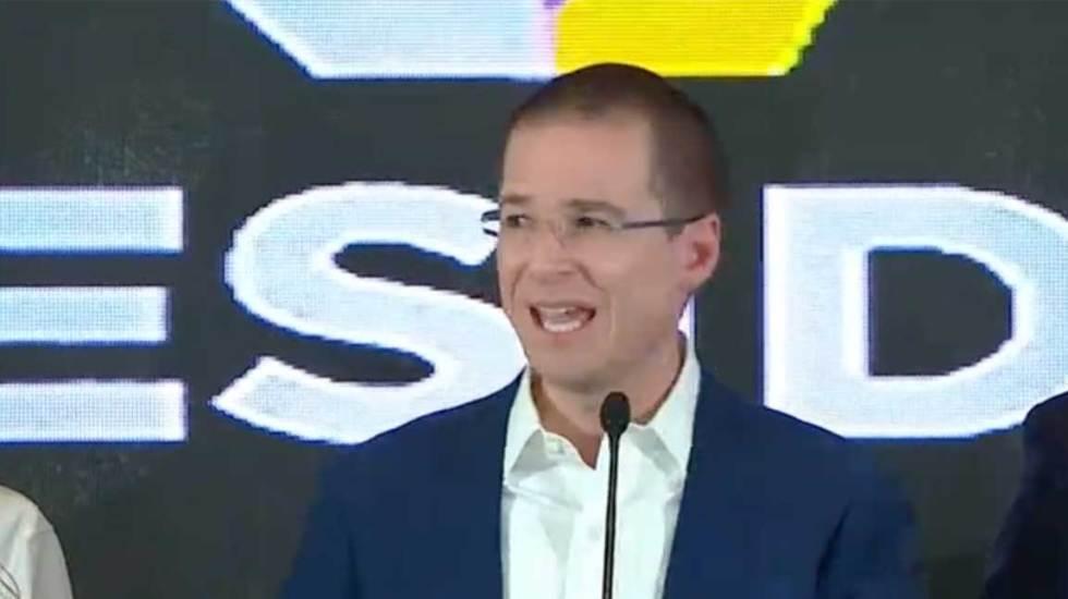 Ricardo Anaya reconoce triunfo de AMLO