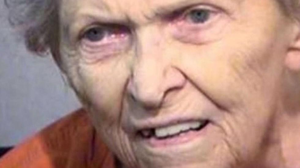 Mujer de 92 años asesina a su hijo