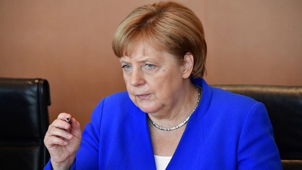 Decidimos independiente: Merkel responde críticas de Trump en la OTAN - Foto de AFP / Tobias Schwarz