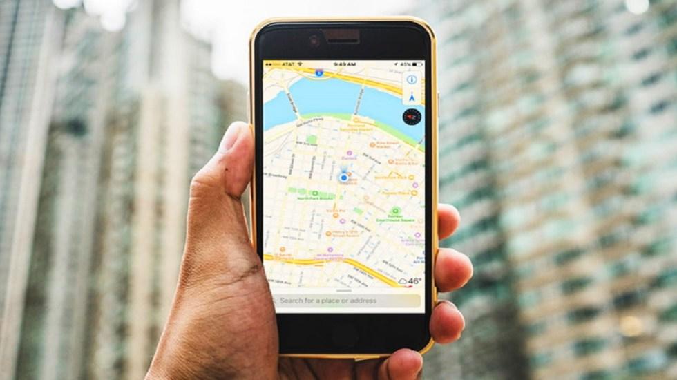 Apple planea rediseño de su aplicación de mapas - Foto de internet