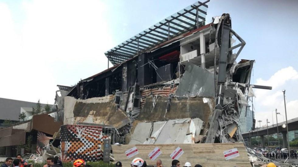 Detecta PGJ deficiencias en estructura de construcción en Artz Pedregal - Foto de Quadratín