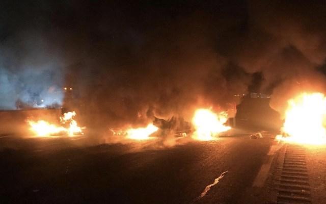 Reabren la autopista México-Puebla tras retiro de manifestantes - Foto de Internet