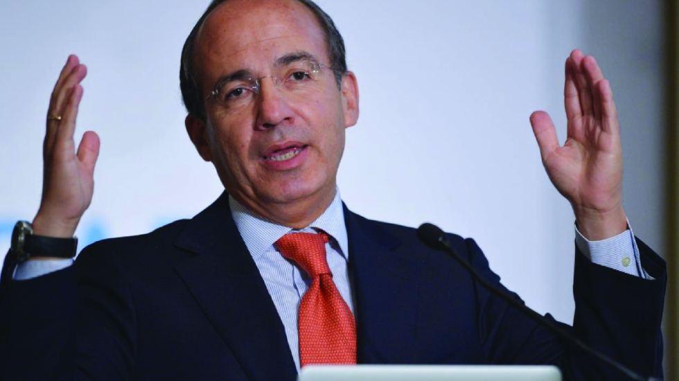 El PAN pudo haber ganado la presidencial: Calderón