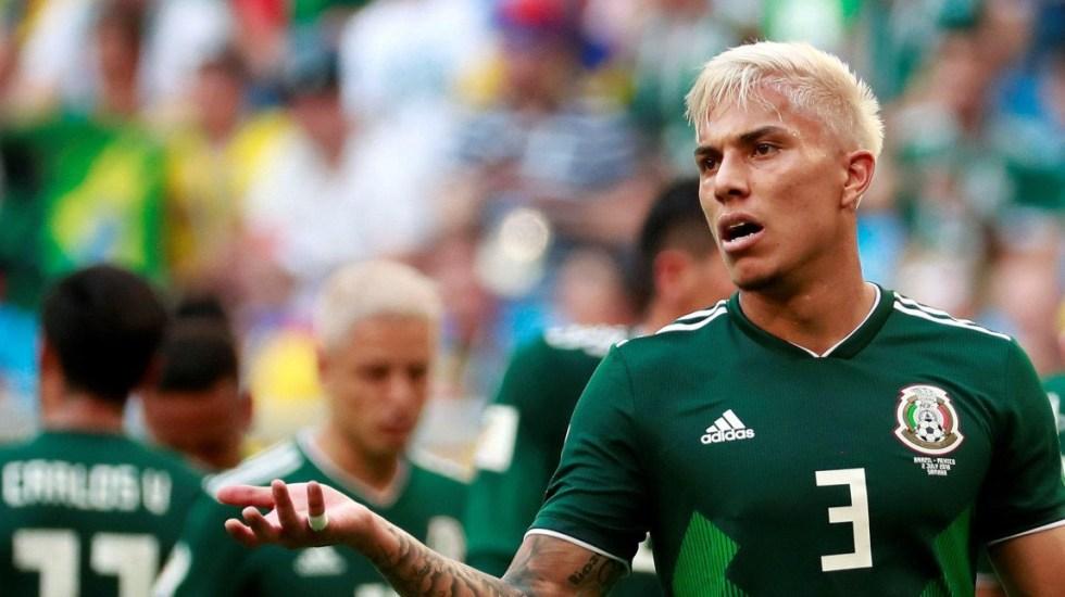 Carlos Salcedo podría renunciar a la Selección Mexicana