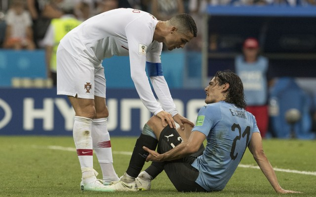 Edinson Cavani descartado para el encuentro contra Francia - Foto de Mexsport