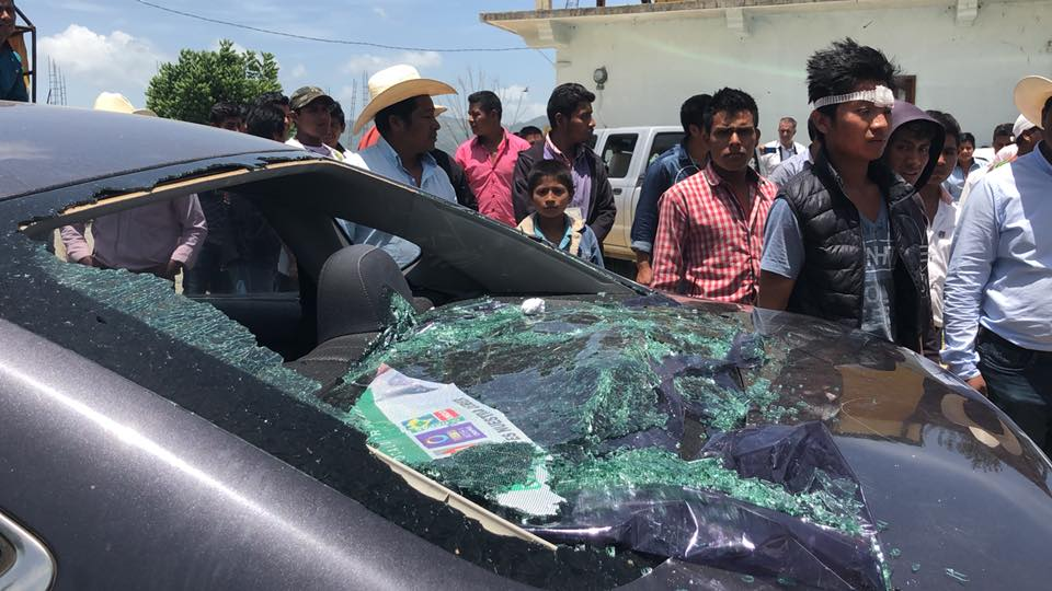Enfrentamiento en jornada electoral deja 15 lesionados en Chiapas - Foto de Facebook