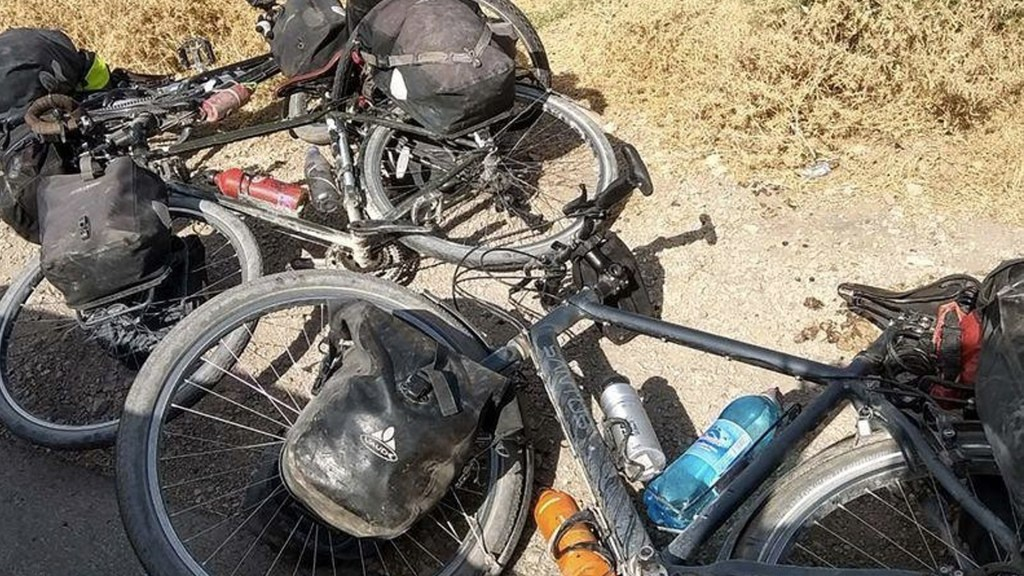 Estado Islámico reivindica asesinato de ciclistas en Tayikistán - Foto de @Austynzogs