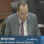 """""""No nos importan los partidos, sino que cumplan con la ley"""": Murayama"""