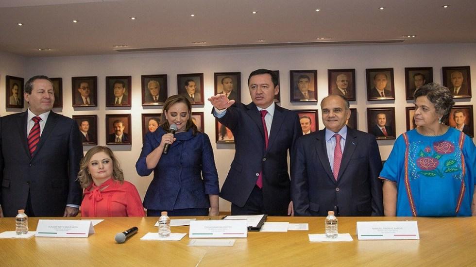 Confían en que Osorio Chong fortalezca al PRI desde el Senado - Foto de @osoriochong